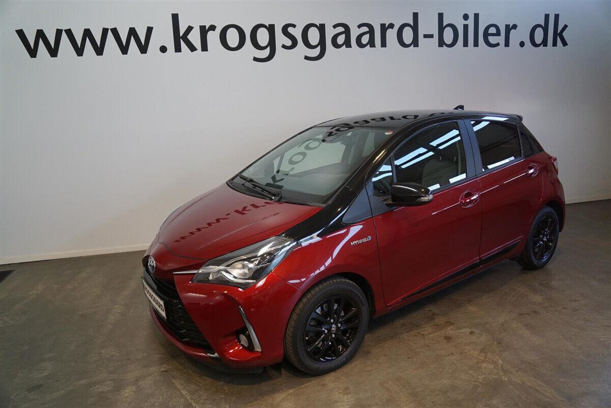 Toyota Yaris 1,5 Hybrid H3 Premium e-CVT 5d - 167.500 kr.