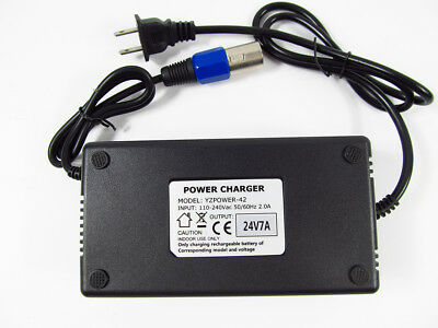 Battery Charger for PERMOBIL C400 CORPUS 3G 24V 7A