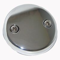 Lasco 03-1425 Two Hole Style Bathtub Waste And Overflow Plate, With Screws Chrom on sale