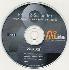 ASUS P5N32-SLi DELUXE Motherboard Drivers Installation Disk M656
