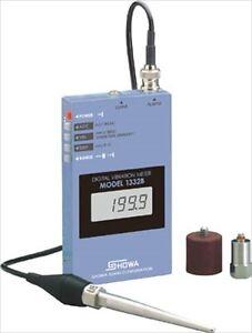 Details about Digital Vibration Meter, MODEL-1332B, SHOWA SOKKI, Made in  Japan