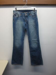 EUC-Lucky-Brand-034-Lil-Maggie-034-blue-jeans-flare-leg-women-039-s-size-8-29-Boot-Cut