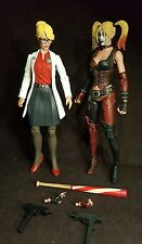 neca Harley Quinn dc direct Harleen Quinzel figures arkham city origins Batman