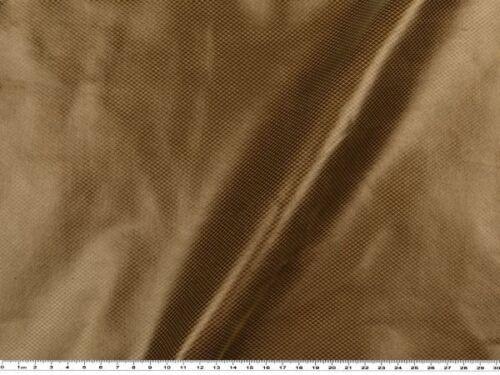 geprägt 135-140cm Stretch Lederimitat rehbraun