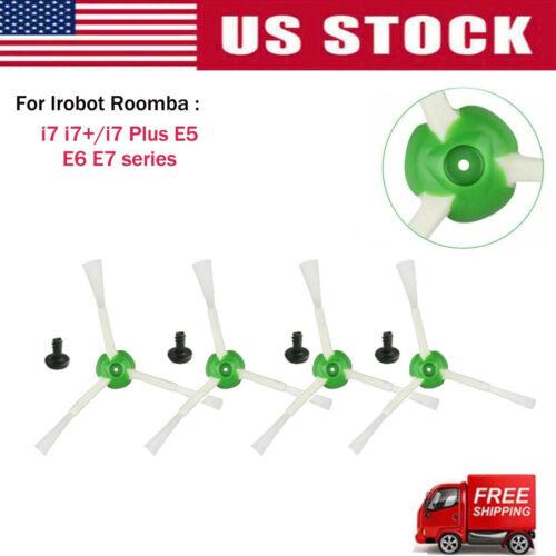 Replacement Parts Side Brush Filters For iRobot Roomba i7 i7+//i7 Plus E5 E6 E7