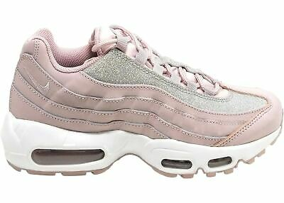 Nike Womens Air Max 95 SE Particle Rose Pink White Glitter AT0068 600 Multi Size   eBay