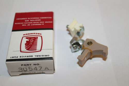 for points ignition New Old Stock Tecumseh 30547A Point set    Tecumseh