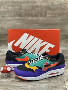 air max 1 black red purple