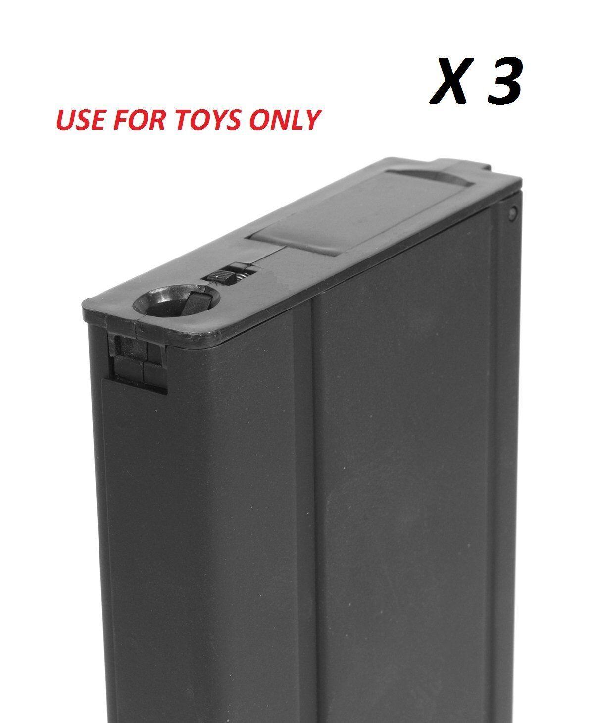 3PCS Cyma 400rds Airsoft  Juguete Hi-Cap Mag Para M14 EBR Socom Marui G&P JG AEG (C28)  tienda hace compras y ventas