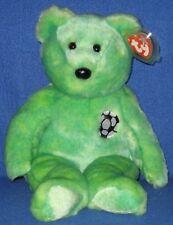 TY KICKS the SOCCER BEAR BEANIE BUDDY  - MINT with MINT TAGS