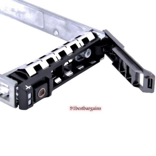 """Dell 0G176J 2.5/"""" SAS SATA Tray Caddy PN F830C 0G281D XN391 18KYH Y961C F449D"""