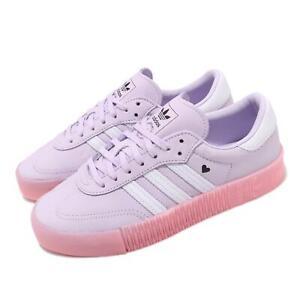 Details about adidas Originals Sambarose W Valentines Day Purple Pink White  Women Shoes EF4966