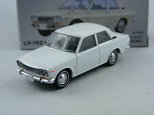 Nissan Datsun Bluebird in weiss,Tomica Tomytec Limited Vintage LV-152a,1/64