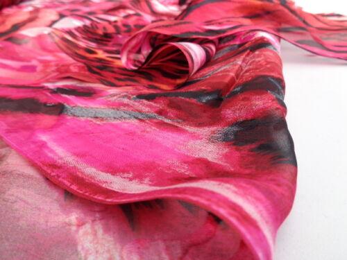 1.50 metres tunic /'Livorno/', Italian Silk Devore 100/% dress fabric scarves