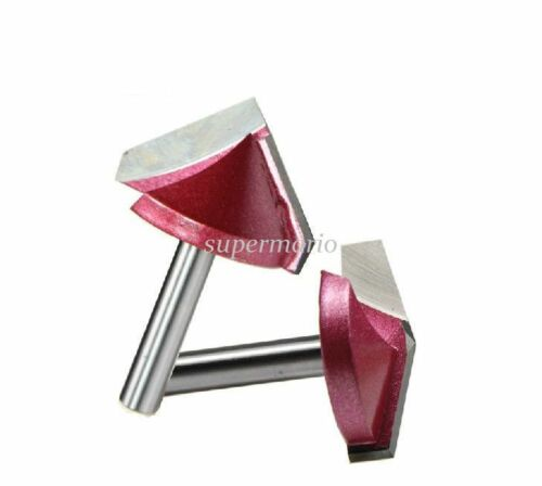 1x Hi Quality 3D Wood Making Router CNC Engraving V Groove Bit End Mill 22 120°