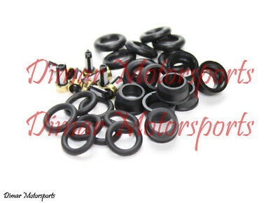 MPN:12580681 Fuel injector Repair Kit Seals//O-rings//Caps for 8 ACDelco Injectors