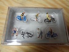 H0 Preiser 10716 Jugendliche mit dem Fahrrad