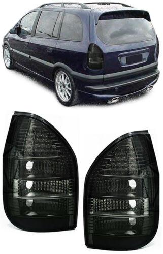DEL Feux arrières noir pour Opel Zafira A 99-05