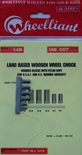 Wheeliant 1/48 Terrestre en Bois cale de roue # 148007
