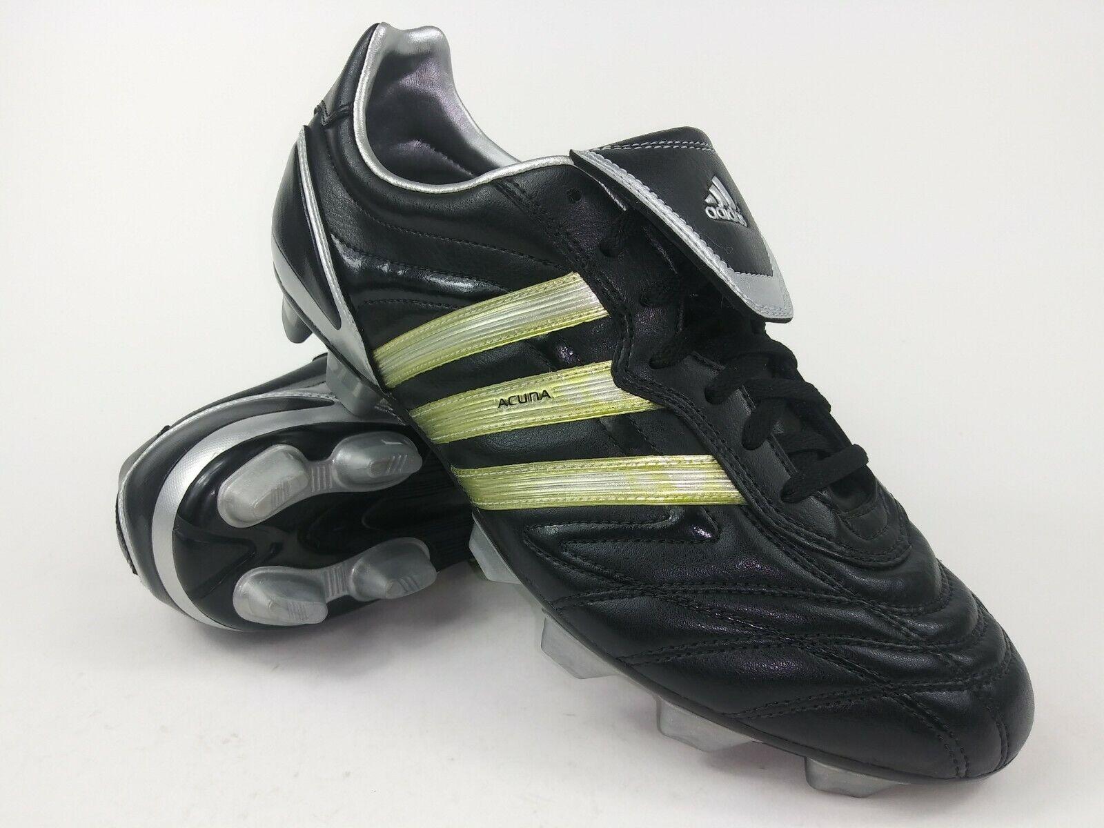 Adidas Para Hombre Raro Acuna Trx Fg 030487 Negro gris botas Botines de fútbol