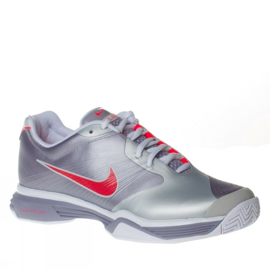 NEU Nike Damens Lunar Speed 3 Athletic Schuhe Purple/ROT/Gray/Whit 429999-500 10,11