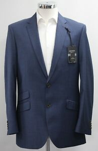 Men's Greenwoods Blue 40 Fit Sample Tailored 3035 Navy Blazer ffZqrw