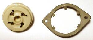 Socket-UX4-4-broches-US-porcelaine-pour-valve-de-puissance-NOS-WWII