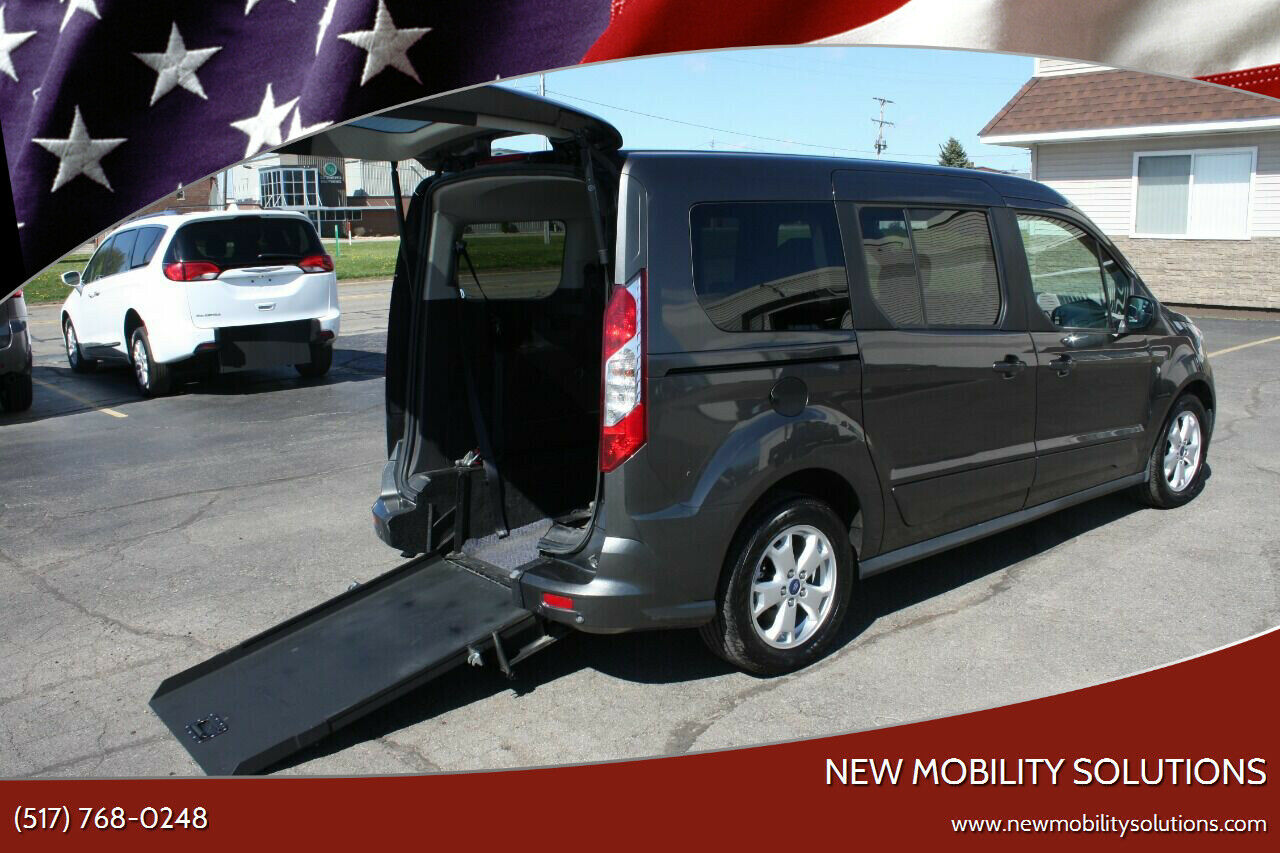 2016 Ford Transit Connect XLT 4dr LWB Mini Van w/Rear Liftgate