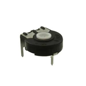 2x PT15NV17-106A5030, Amphenol Piher Carbon Potentiometer, 15mm 10M Ohm