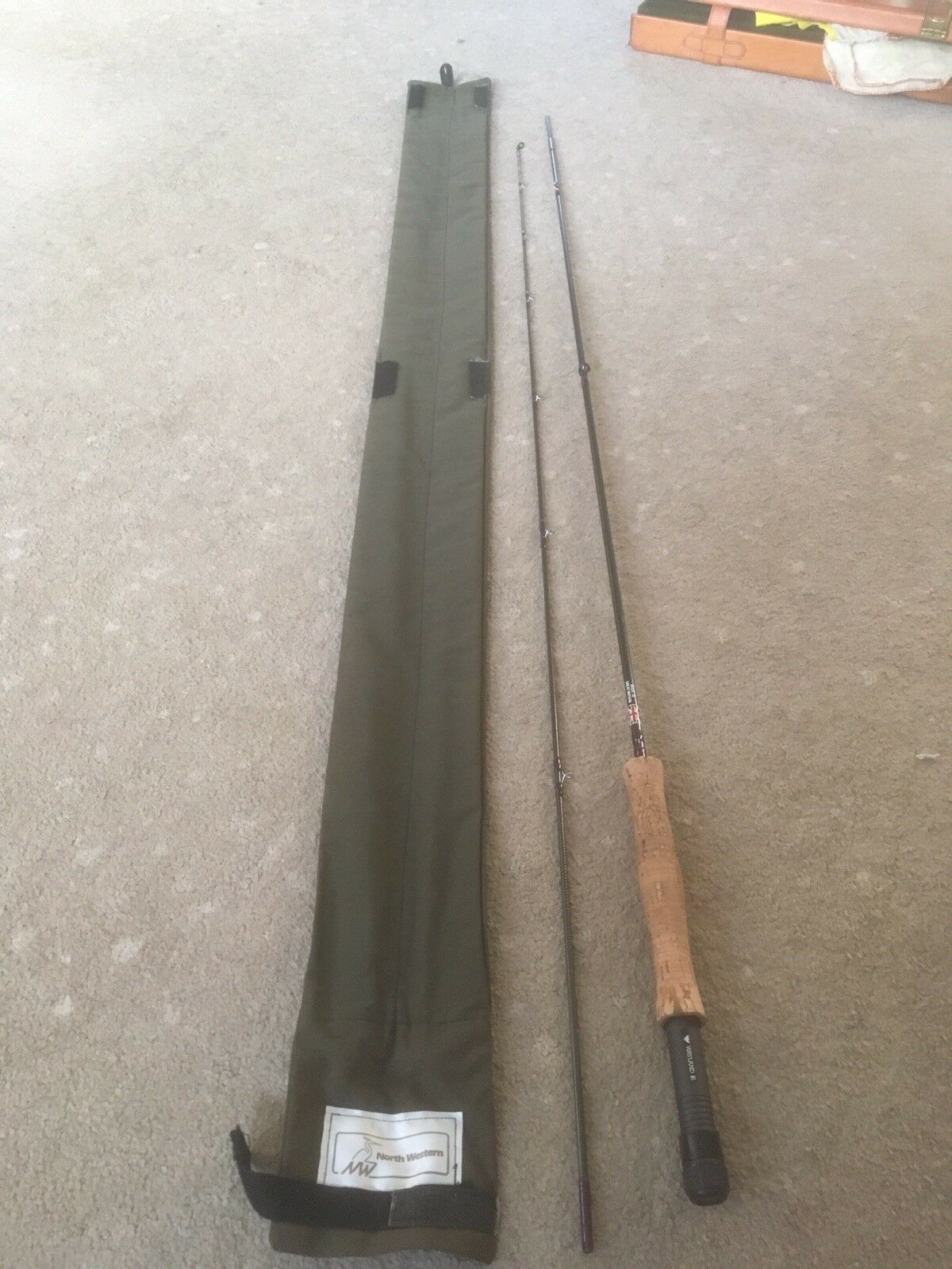 North Western Rodcraft 8' Fly Rod. Excellent.