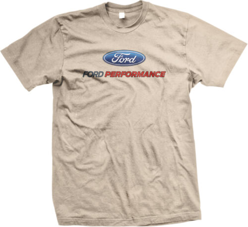 Ford Performance Shelby Cobra Mustang 5.0 Car Muscle GT500 Mens T-shirt