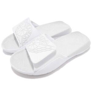 2820278331f Nike Jordan Hydro 7 VII BG Wings White Kids Youth Women Sandal ...