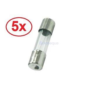 5x-FUSIBLE-RAPIDO-5x20mm-CRISTAL-250V-05A-2A-3A-8A-10A-Fuse-Fast-Break-5-x-20mm