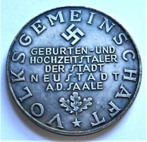 WW2-GERMAN-COMMEMORATIVE-COLLECTORS-REICHSMARK-COIN