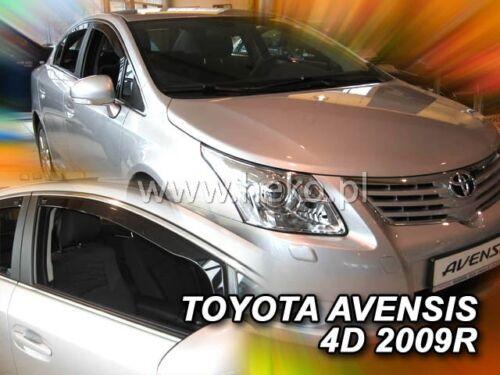 HEKO 29608 saute vent 2 pcs Toyota Avensis t27 4//5 türig année de construction à partir de 2009
