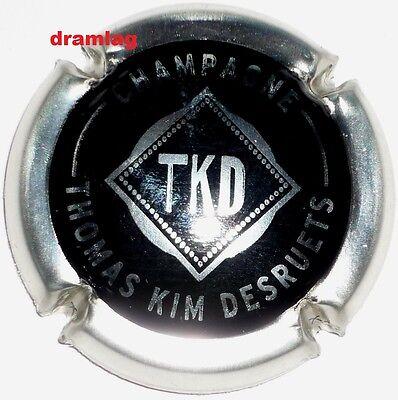 TKD Extra !!! Capsule de Champagne Nouvelle  DESRUETS  Thomas Kim