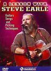 Steve Earle Guitars Songs Picking Tec 0884088662448 DVD Region 1