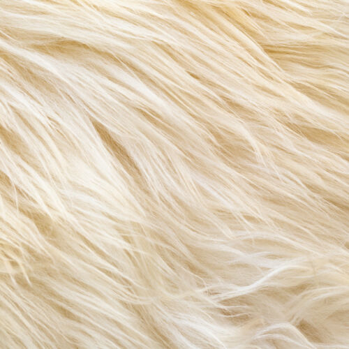 Peau De Mouton Tapis Grand XL 115-120 cm//75 cm Crème//Blanc//Écru Fourrure Tapis.