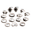 15-Pcs-set-Silver-Midi-Finger-Ring-Vintage-Punk-Boho-Knuckle-Rings-Jewelry-Set thumbnail 9