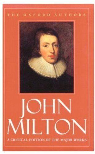 John Milton (Oxford Authors),John Milton, Stephen Orgel, Jonathan Goldberg