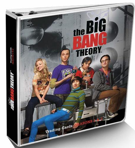 2012 BIG BANG THEORY SEASON 1-2 Foil ALBUM Only Trading Card BINDER