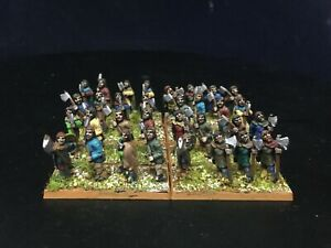 15mm-DPS-painted-Ancient-Germanic-Heavy-Infantry-Warband-Warriors-GH1622