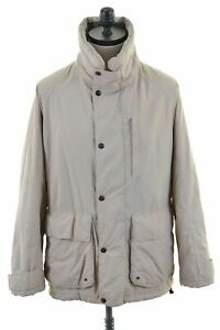 NORTH-SAILS-Mens-Windbreaker-Jacket-Size-40-Large-Beige-Nylon-AN14
