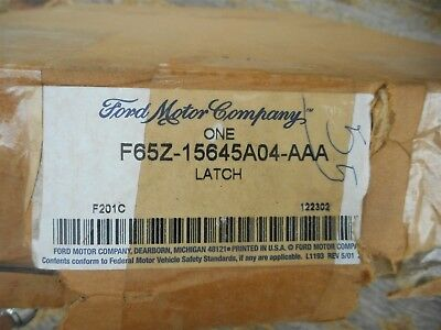 NOS 1998-2003 FORD F150 SPLIT BENCH SEAT ARMREST LATCH ASBY F85Z-15645A04-AAA