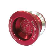 YOYO Magic Yo-yo N8s Dare to do String Trick Red Aluminum Kids Finger Yoyo Toys