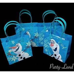 Image Is Loading 24 Pcs Disney Frozen Olaf Party Goo Bags