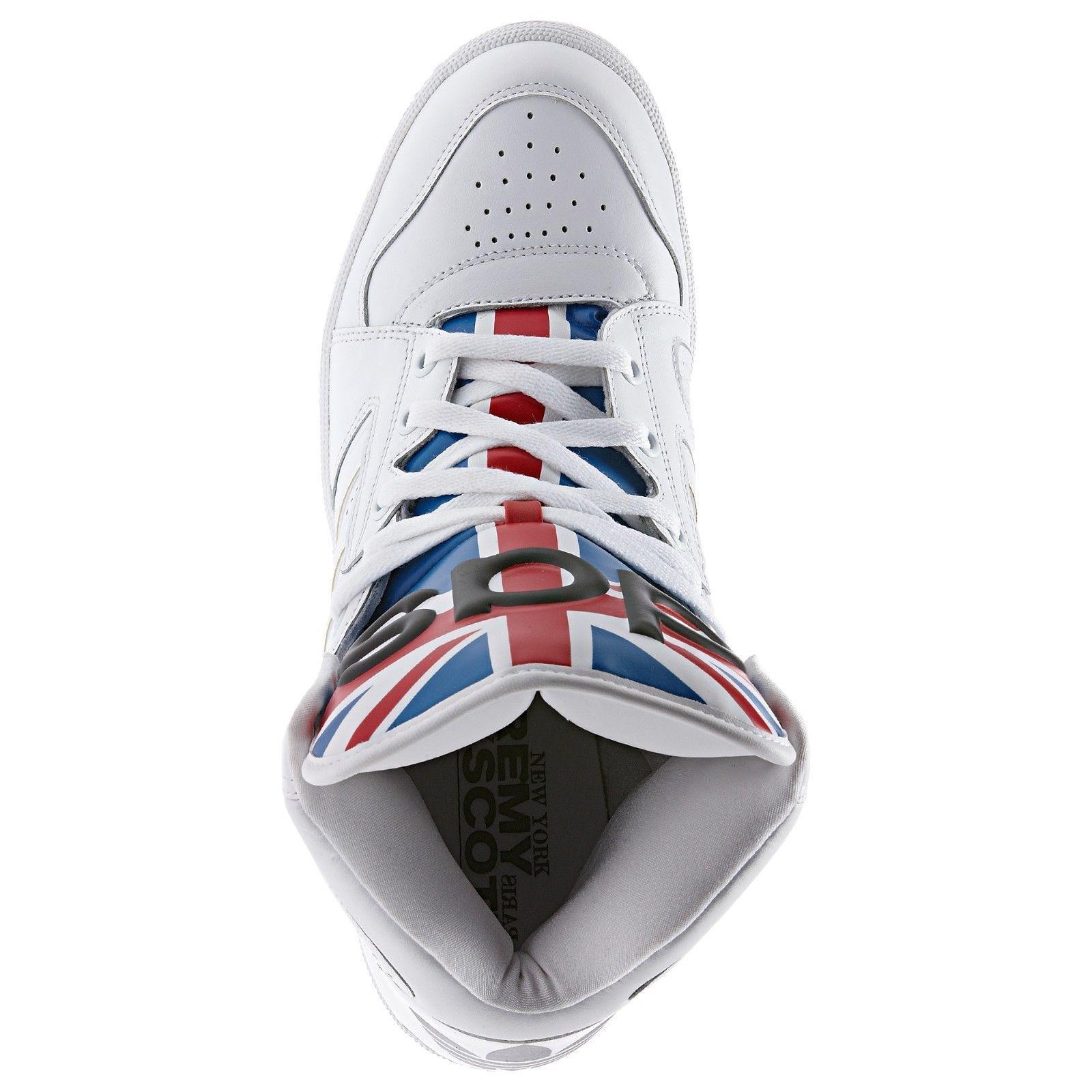 669b39b95aee ... Adidas Adidas Adidas Originals Men s Jeremy Scott Instinct Hi Union  Shoes Sizes 4.5 us D65204 81da33