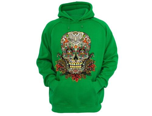 Sugar Skull Tree Ugly Christmas Sweater Flowers Winter Day Dead Men Women Hoodie
