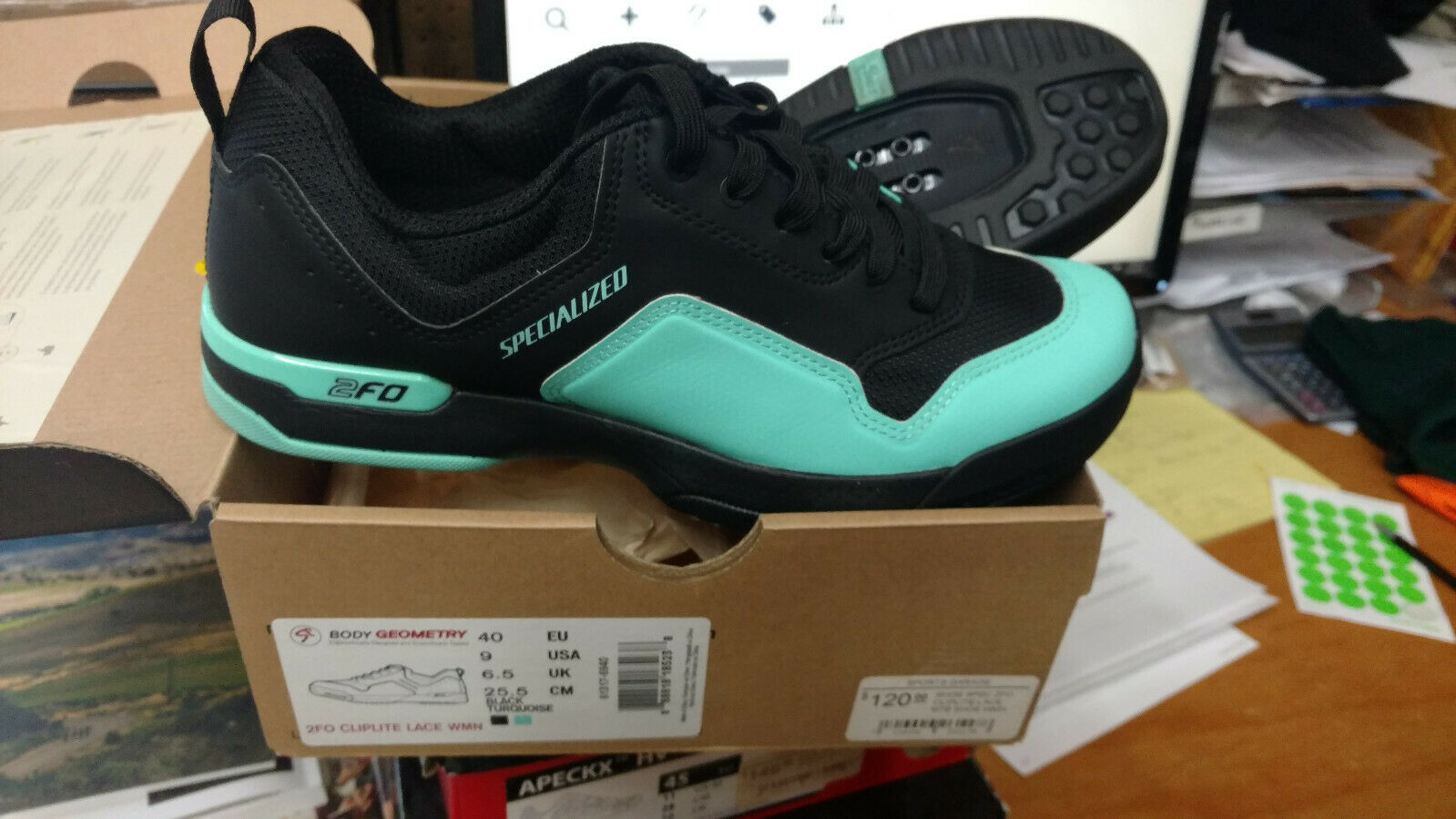 Specialized 2F0 shoe Womens Cliplite Lace  size 40  outlet on sale