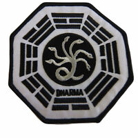 Lost Television Show Dharma Project Hydra Logo Embroidered Patch 1st Quality